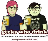 Geeks Who Drink logo